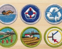 This is how to earn a merit badge